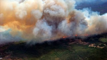 Canada wildfire grows