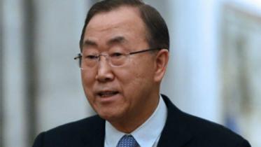 Ban Ki-Moon expresses outrage