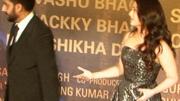 Abhishek and Aishwarya