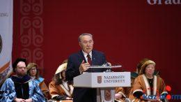 Kazakh President awards diplomas