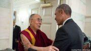 Obama Embraces Dalai Lama