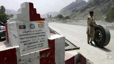 Afghan-Pakistan disputed border
