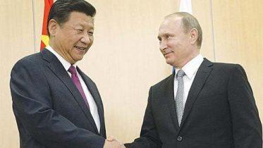 Putin's visit to China