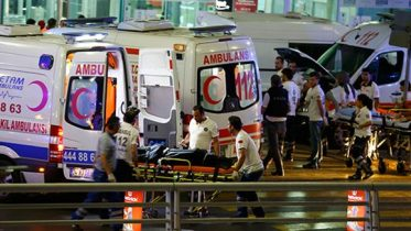 terror attack on Istanbul's Atatürk Airport