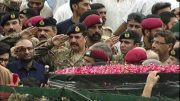 Edhi's funeral prayers