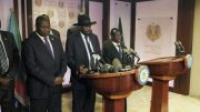 Death toll from fighting in South Sudan's