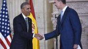 Obama visits Spain