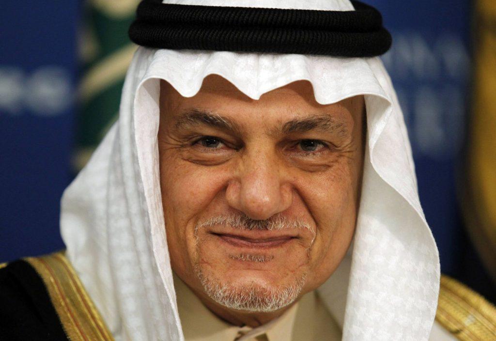 Prince Turki Al Faisal of Saudi Arabia