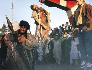 Martyr Dr. Najibullah was hanged by Taliban