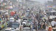 Hafiz Saeed leads Kashmir Caravan