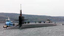 US ballistic missile submarine