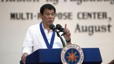 Philippines' Rodrigo Duterte
