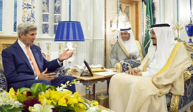 Kerry in Saudi