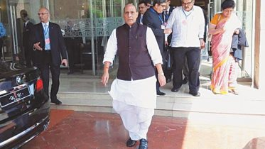 Rajnath leaves Saarc