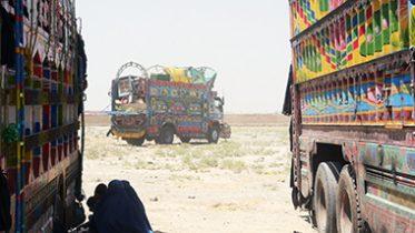 Afghans returning home