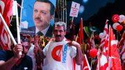 Turkey : mass rally