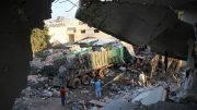 convoy in Aleppo