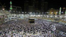 Hajj rituals in Saudi