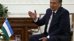 Acting Uzbek leader