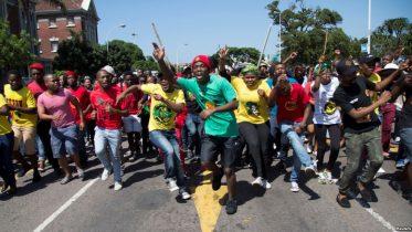South Africa Universities Close