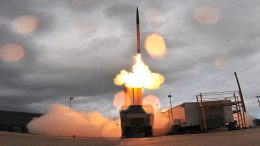 THAAD anti-missile systems