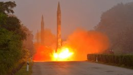 N. Korea fires 3 rockets