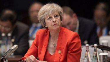 UK's Theresa May