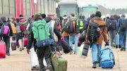 camp in Calais,