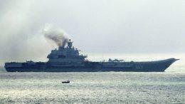 Russian warships refuel