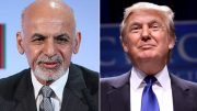Ghani congratulates Trump