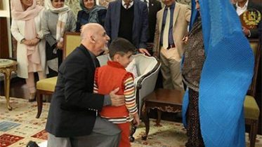 Ghani Meets With Sharbat Gula