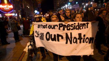 anti-Trump protests