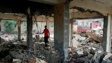 Heavy fighting in Yemen