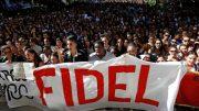 Cuba's revolutionary leader Fidel Castro