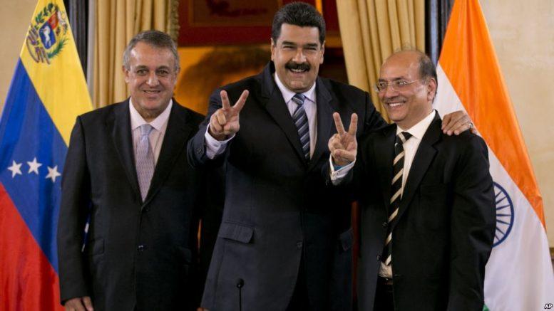 Venezuela, India Sign Oil Deals