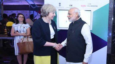 PM Theresa May visit to India