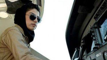 First female Afghan air force pilot seeks asylum