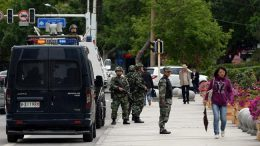 'terrorist attack' in China's Xinjiang