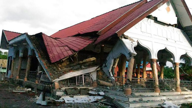 6.5 quake in Indonesia