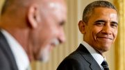 Obama talks with Ghani