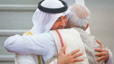 Modi breaks protocol