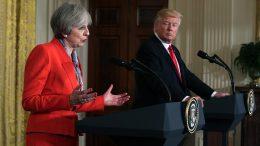 Trump backs Brexit