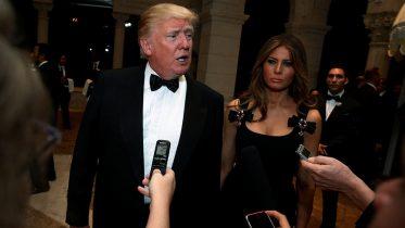 Trump questions claim