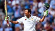 Younis makes history,
