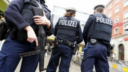 Germany raids