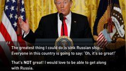 Trump on Russia