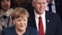 Germany's Merkel to US