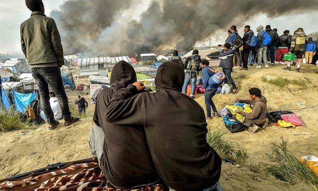 child refugees in France