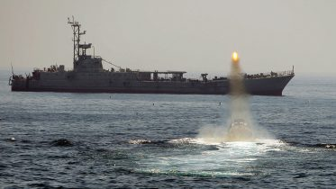 Iran stages massive navy drill