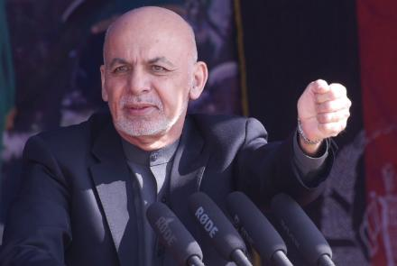Ghani Hails Afghan Forces